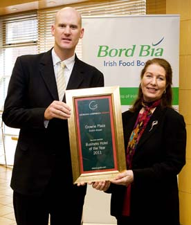 Business Hotel of the Year 2011 - Crowne Plaza Hotel Northwood Dublin