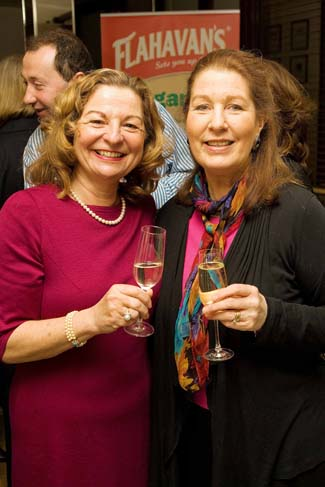 Irish Food Writers Guild Awards 2011 - Marie Cooney & Georgina Campbell