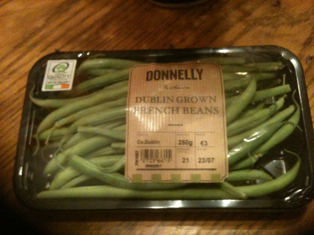 Donnelly French Beans - Grown in North Dublin