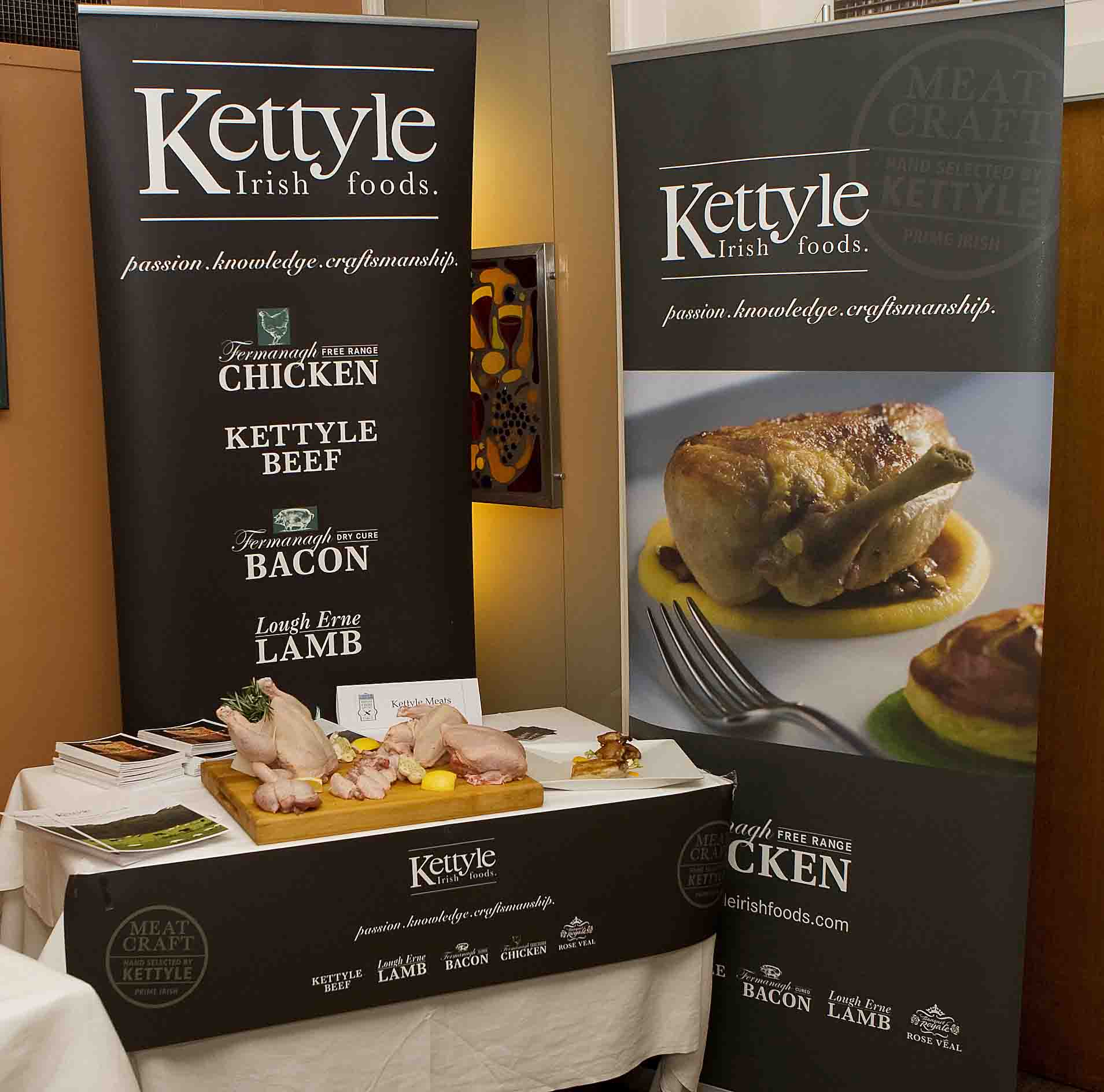 Kettyle stand at IFWG Awards