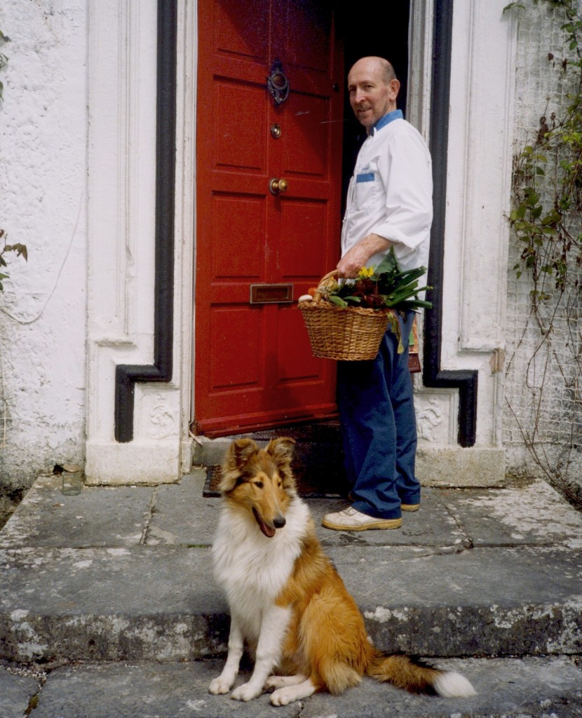 G Galvin w dog at door low res159
