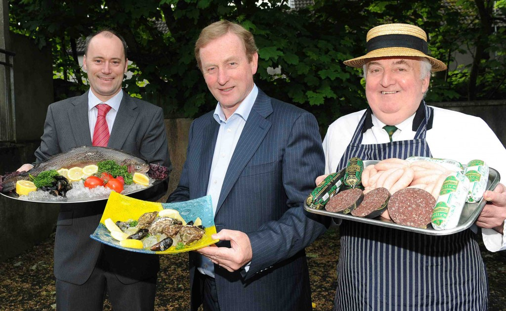 An Taoiseach Enda Kenny launches Mayo's newest food trail, The G
