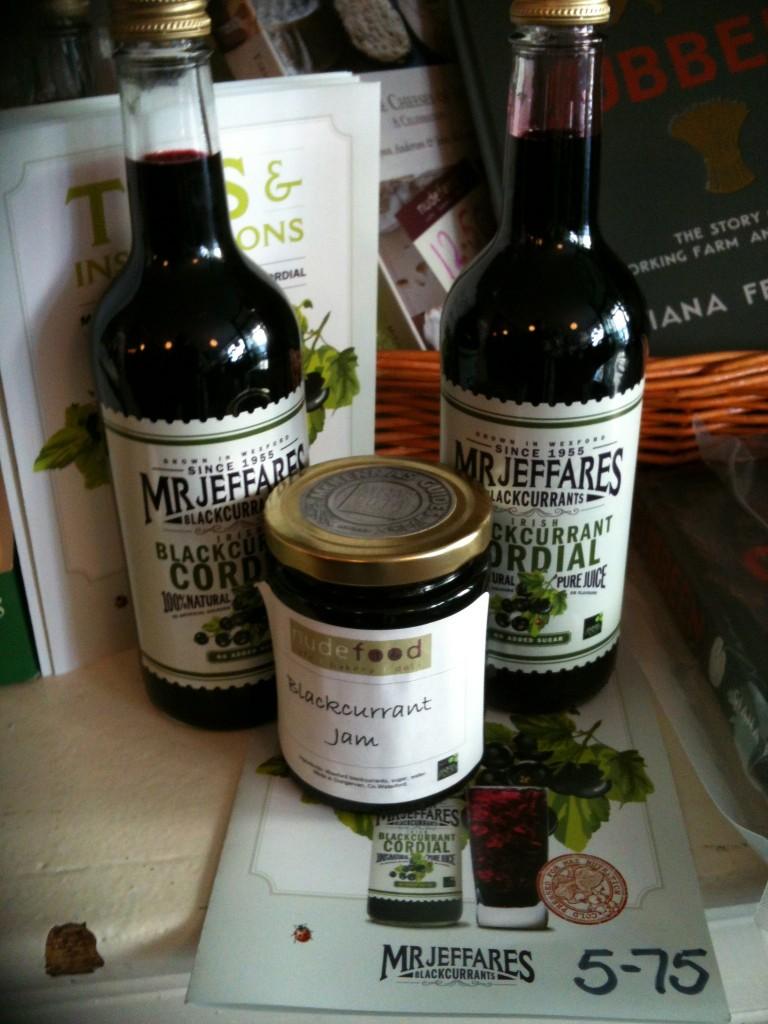 Mr Jeffares Blackcurrant Cordial, Nude Food, Dungarvan, Co Waterford